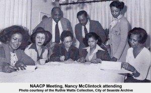 Nancy McClintock at NAACP Meeting