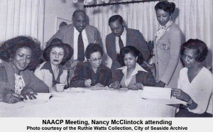Nancy McClintock at NAACP Meeting