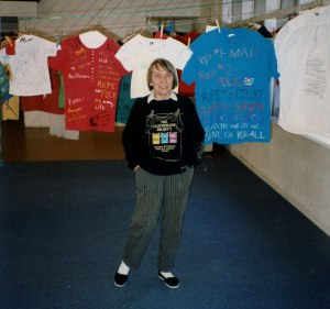 Nancy McClintock and The Clothes Line Project