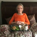 Nancy McClintock: Enjoying a Meal