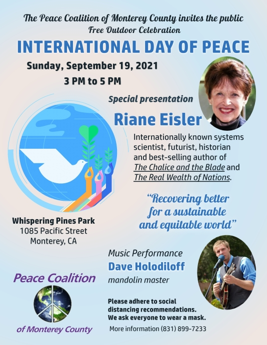 Peace Day 9-19-21 flyer