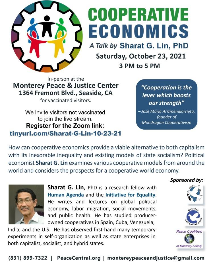 Cooperative Economics 10-23-2021 flyer